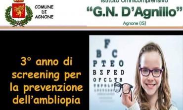 Agnone, screening per la prevenzione dell'ambliopia