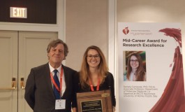New Orleans, consegnato alla ricercatrice Neuromed  Daniela Carnevale il premio Mid-Career Award for Research Excellence