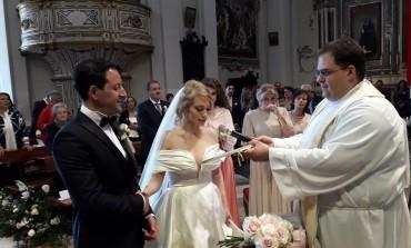 Il sindaco di Roccaraso sposa a Castel di Sangro la sua Annalisa