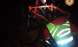 Notte all'addiaccio per 2 bikers dispersi sui monti del Pnalm, i soccorsi li trovano a Val Fondillo