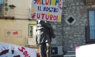 Carovilli, difesa del clima: gli studenti scendono in piazza