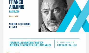Franco Arminio ospite del forum MontagnAperta a Capracotta