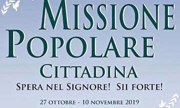 Inizia la Missione Popolare Cittadina, aprite le porte a Cristo