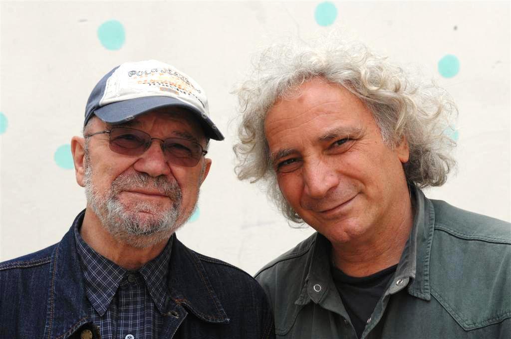 Giose Rimanelli e Pierluigi Giorgio