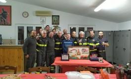 Vigili del Fuoco Castel di Sangro, ultimo giorno di servizio per il capo reparto Mario Di Ciocco
