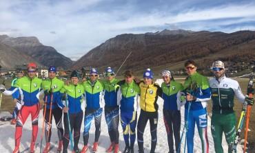 Sci Fondo, gli atleti del Cab Abruzzo in ritiro a Livigno