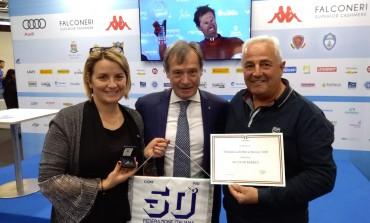 Modena - Skipass, premiato lo sci club Barrea per 50 anni di attività sportiva