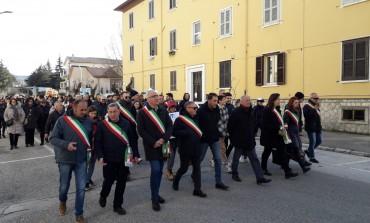 Castel di Sangro, corteo di 500 persone contro il depotenziamento dell'ospedale