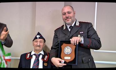 100 anni di Alfredo Bonanotte, Ateleta e Carabinieri in festa per il traguardo
