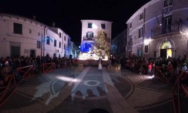 Capracotta, accensione albero di Natale e inaugurazione del presepe