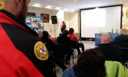 Prevenzione incidenti in montagna, lezione di sicurezza a Capracotta con i tecnici del CNSAS