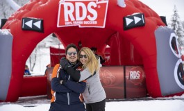 Roccaraso, Anna Pettinelli e Fabrizio D'Alessio con Rds Play on tour 2020