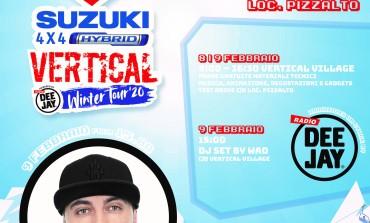 Roccaraso, suzuki 4x4 hybrid vertical winter tour 2020
