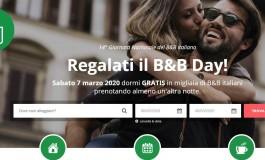 Vacanza gratis con la giornata nazionale del B&B day