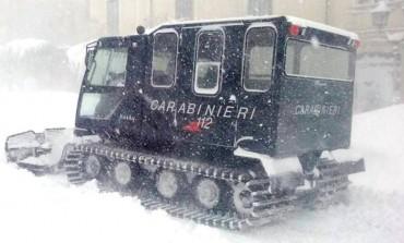 Maltempo, allertati i carabinieri della provincia d'Isernia