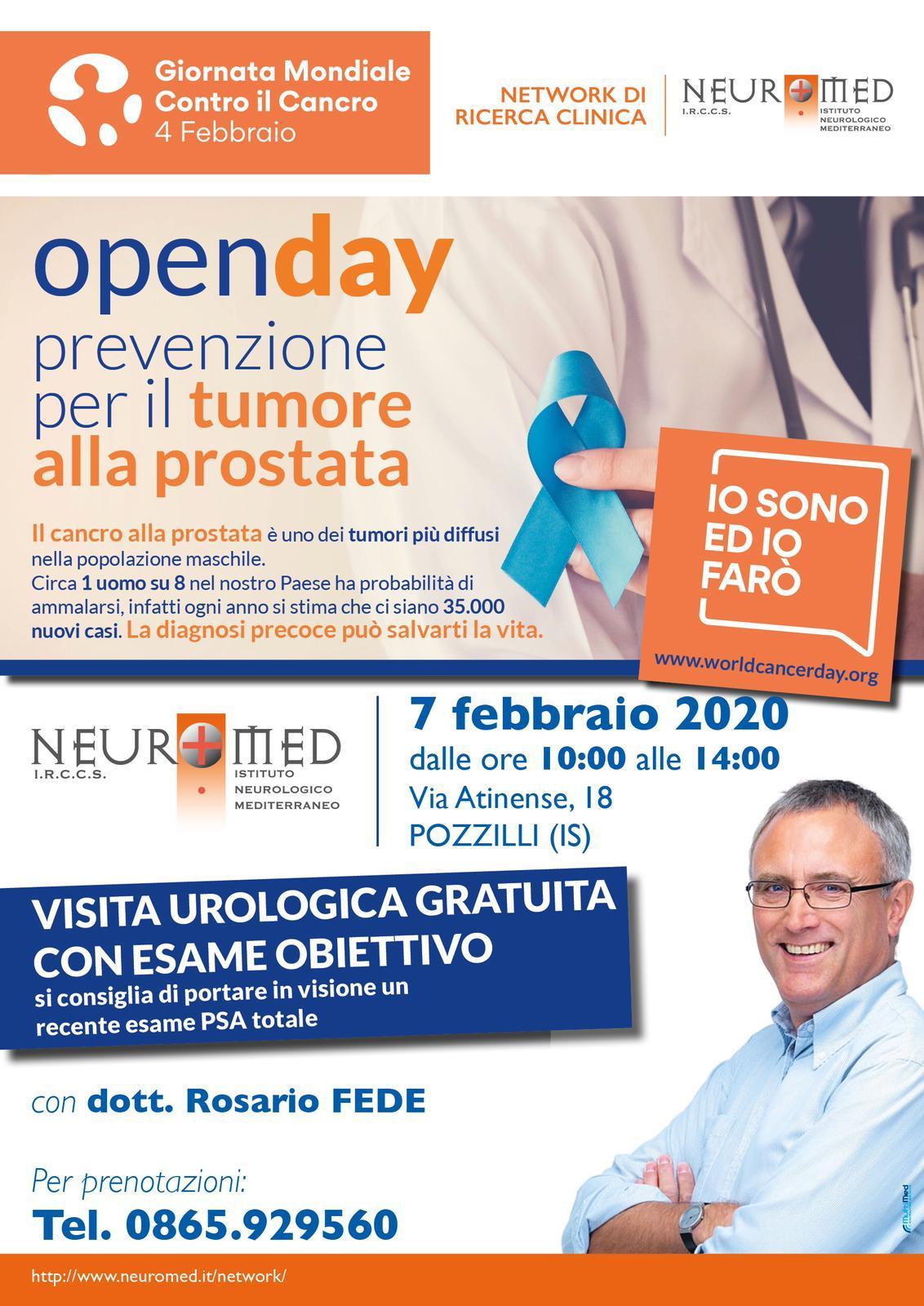 giornata prevenzione urologia neuromed