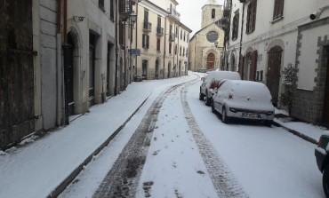 Alto Molise, ondata di neve e gelo