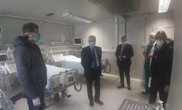 Marsilio visita il g8 dell'Aquila, l'azienda: una grande risposta, da una grande squadra, per una grande emergenza