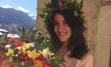 Laurea - Auguri a Meghi Quaranta, dottoressa in Economia e Management