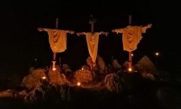 Montenerodomo, commovente e originale Passione di Cristo messa in scena dalla Pro loco