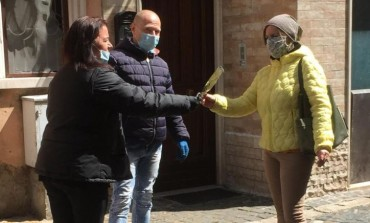 Alfedena, lo Sci Club si sostituisce alla Chiesa: dona 270 ramoscelli di ulivo a tutte le famiglie