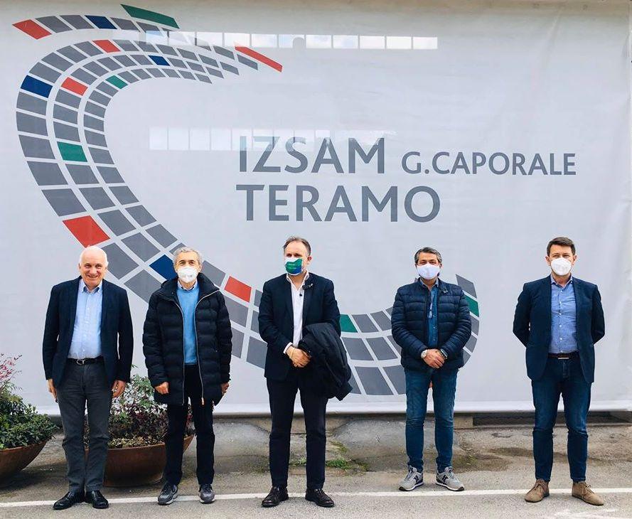 VisitaAssessoreLiris_IZSAM_Teramo