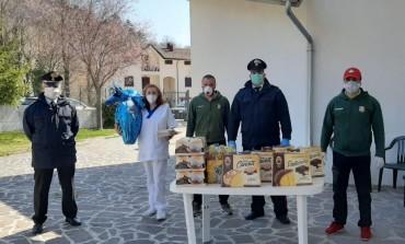 Pescasportivi di Alfedena campioni di solidarietà, offrono la colazione di Pasqua agli ospiti della casa di riposo