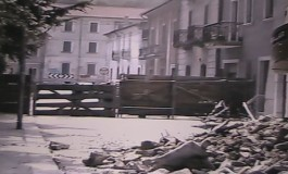 Esclusivo - Alfedena, terremoto 1984: le immagini della demolizione (1^parte)