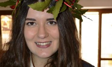 Laurea, confetti rossi per Alessia Tesone