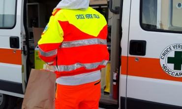 """""""Viviamol'Aq"""" dona alla Croce Verde di Roccaraso le visiere di autoprotezione"""