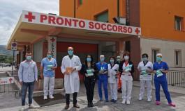 Castel di Sangro, l'Ordine degli infermieri dona mascherine alle strutture sanitarie del territorio