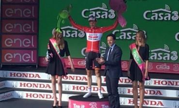 Roccaraso batte tutti in volata, a ottobre torna il Giro d'Italia. Di Donato sigla l'intesa con Rcs Sport