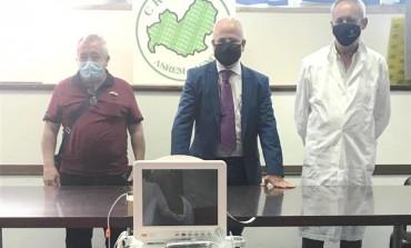 Cral ospedaliero dona  monitor multiparametrico al pronto soccorso del 'Caracciolo'