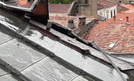 Agnone, danni alla cupola di palazzo San Francesco