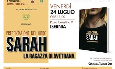 A Isernia la presentazione del libro 'Sarah la ragazza di Avetrana' in piazza Celestino V