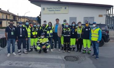 Ritiro Napoli a Castel di Sangro, applausi alla Protezione Civile per la gestione