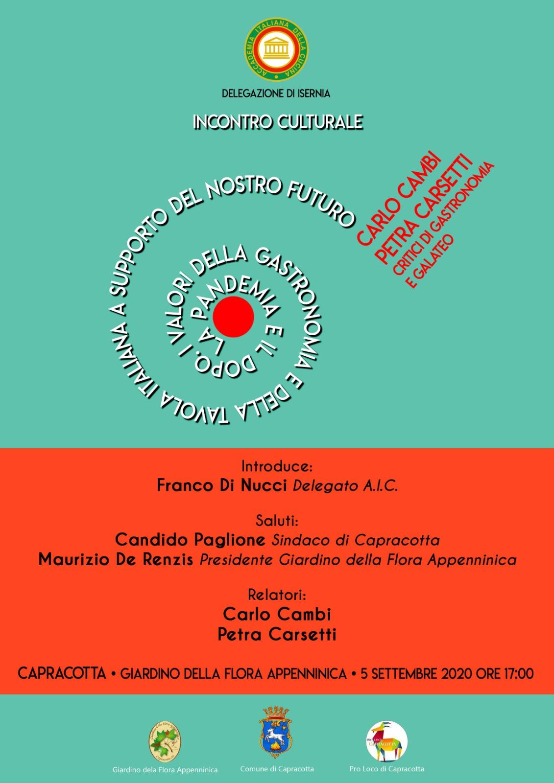Locandina AIC Carlo Cambi