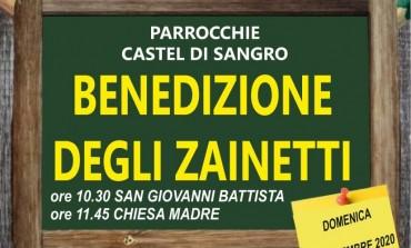 Benedizione degli zainetti a Castel di Sangro, Don Domenico vi aspetta in Chiesa