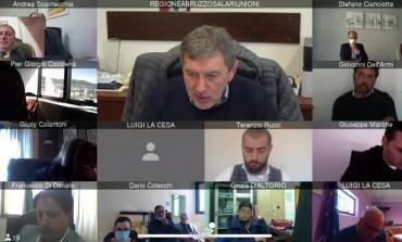 Napoli Calcio a Castel di Sangro, Angelo Caruso dice Si in videoconferenza con Marsilio