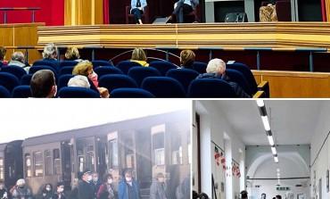"""La linea Gustav rivive attraverso la Transiberiana d'Italia, """"Il Treno della Memoria"""""""