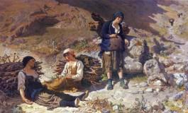 Bestie da Soma, il quadro del Maestro Patini prende vita a Castel di Sangro
