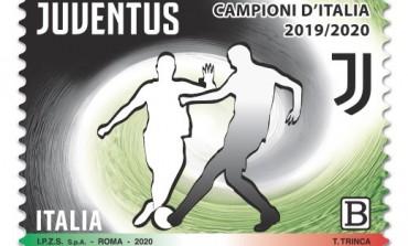 Juventus, Poste Italiane emette un francobollo celebrativo per i Campioni d'Italia