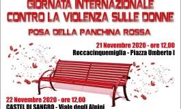 Panchina Rossa, il simbolo contro la violenza sulle donne anche a Castel di Sangro