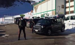 Impianti sciistici aperti a Roccaraso, i Carabinieri effettuano controlli sulle piste
