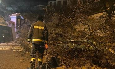 Maltempo: interventi dei Vigili del Fuoco h24, decine di soccorsi in Alto Sangro