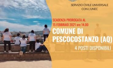 """Servizio Civile a Pescocostanzo, Sindaco Sciullo """"ottima occasione per i giovani"""""""