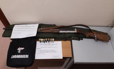Cacciatore di Agnone denunciato dai Carabinieri Forestali di Pescopennataro