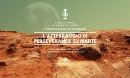 Rover Marte, l'atterraggio di Perseverance in diretta su Astronomitaly