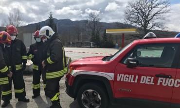 Vigili del Fuoco intervengono sull'impianto GPL: tanto spavento, nessun ferito