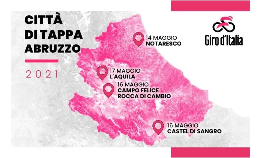 Abruzzo in Rosa giro d'italia